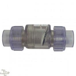 Valvula check con tuerca union  - 1.5 pulgada