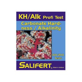Salifert kH/Alkalinity Test low & high 100-200 tests